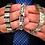 Thumbnail: Flexi Magnetic Bracelet Pyramid