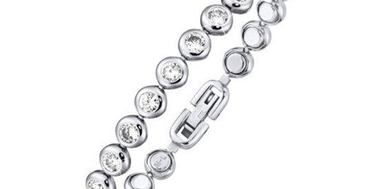 Magnetic Bracelet Zirconia Glitz