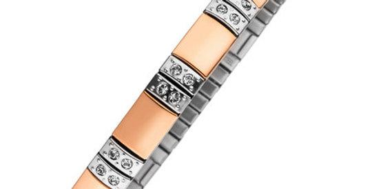 Flexi Magnetic Bracelet, rose gold plated