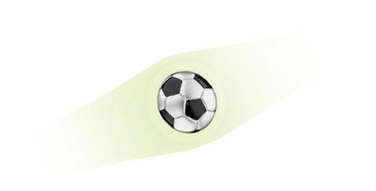 Magnetic Central Element Football for Sport Bracelet