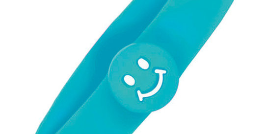 Kids Magnetic Bracelet Smiley with Negative Ions