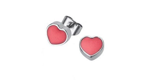 kids magnetic earrings, Hearts