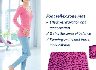 Foot Reflex Zone Magnetic Mat