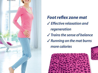 Foot Reflex Zone Magnetic Mat