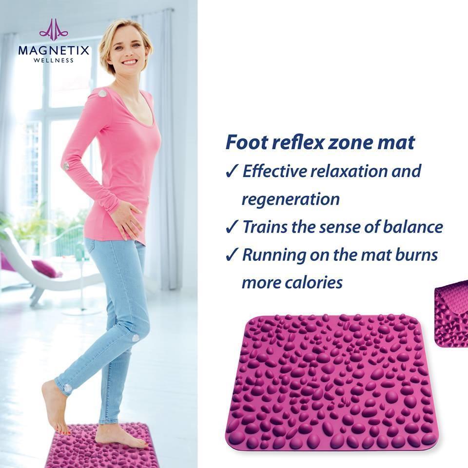 Foot reflex zone magnetic mat, Magnetix Wellness Australia