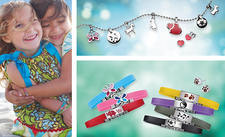 Magnetic Kids jewellery accessories bracelets in Australia, Magnetic Bracelet & Pendant Earrings, Magnetic Therapy