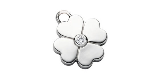 Magnetic Pendant/Collar accessory for Pets Cloverleaf