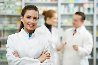 woman - pharmasist