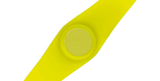 Silicon Sport Bracelet, yellow