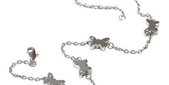 Magnetic Anklet Butterfly