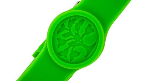 Silicone Magnetic Sport bracelet, green, SKU4440