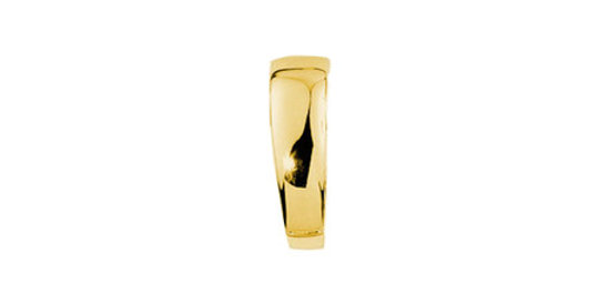 Magnetic Clip for Pendant, gold plated
