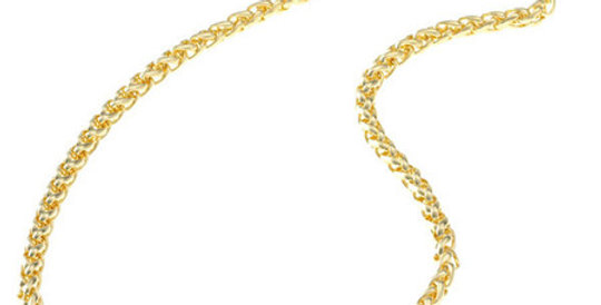 Link Magnetic Necklace, gold plated