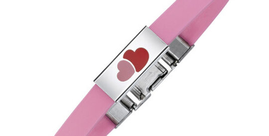 Kids Magnetic Bracelet Two Hearts
