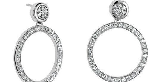 Magnetic Earrings with Zirconia