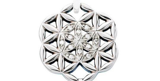 Magnetic Pendant Flower of Life