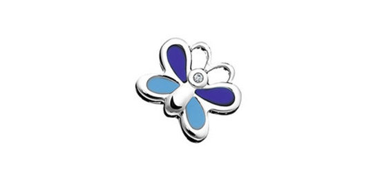 Magnetic Slider Butterfly for Kids Bracelet, blue