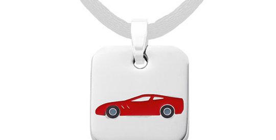Kids magnetic pendant Ferrari
