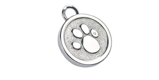 Magnetic Pendant/Collar accessory for Pets Paw