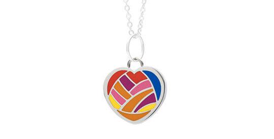 Kids Magnetic Pendant Heart 4788