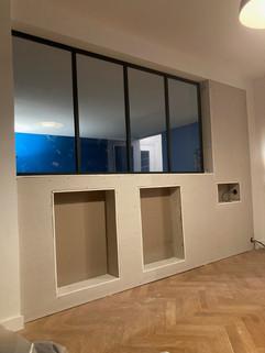 Installation d'une verrière d'atelier sur mesure