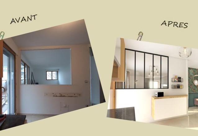 Avant-après : la transformation d'un salon en pièce lumineuse