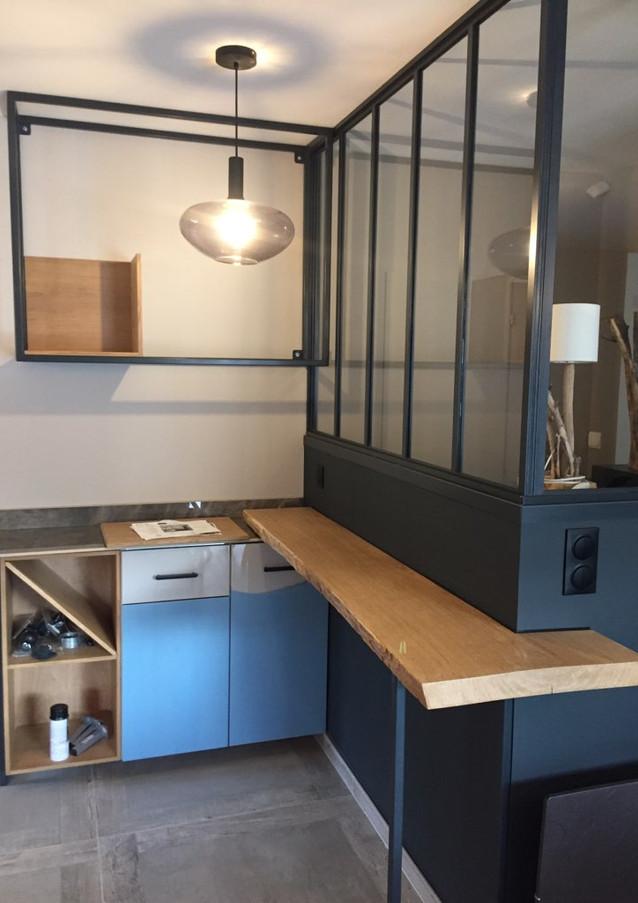 Verrière et claustra séparent les espaces de vie avec style !