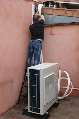 Installation de votre climatisation