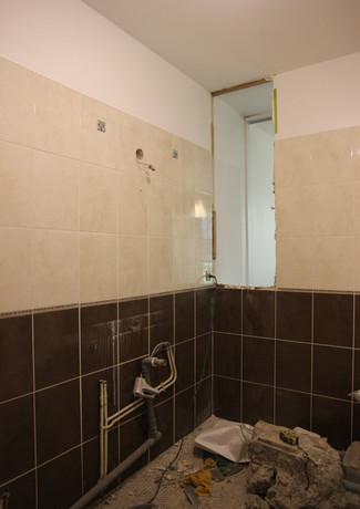 Démolir une salle de bains