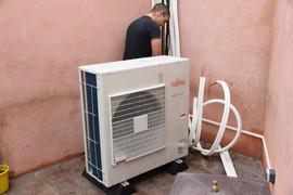 Pompe à chaleur ou climatiseur silencieux et puissant sur Lyon