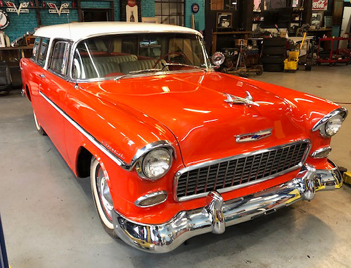 1955 Chevy BelAir Nomad