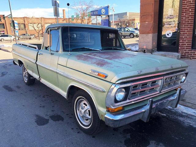 1971 Ford F100 Sport Custom Truck