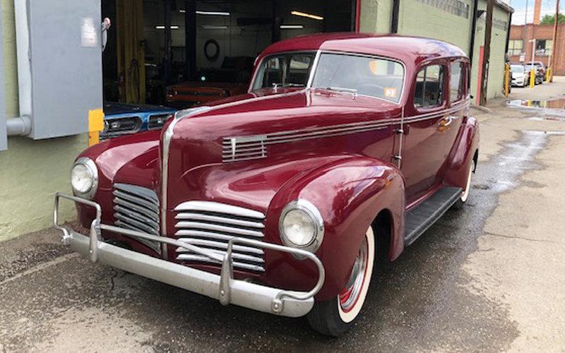 1940 Hudson Super Six Sedan