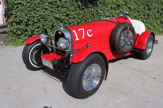 1937 Bugatti Boattail