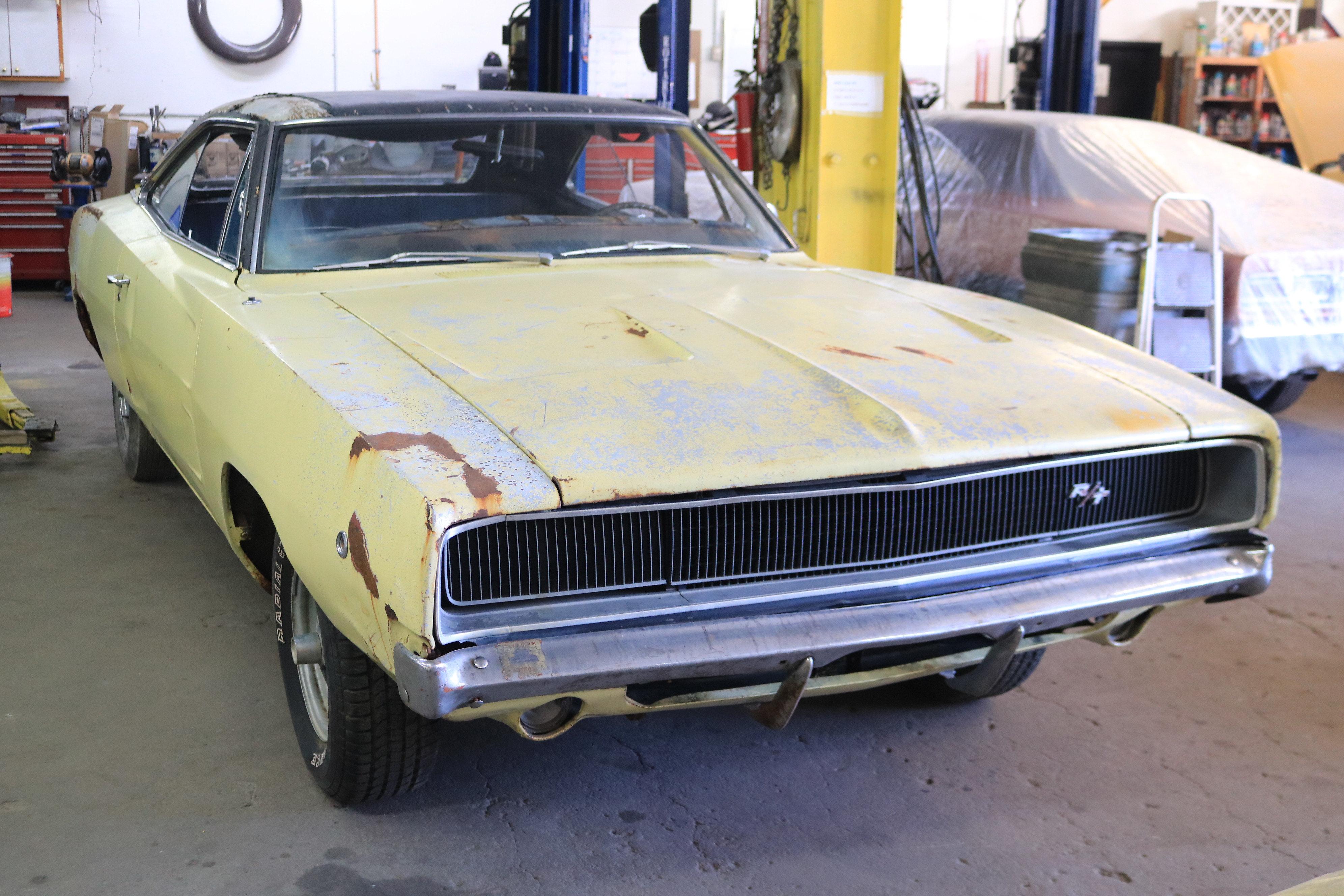 1968 Dodge Charger Rt Soneffsmastergarage