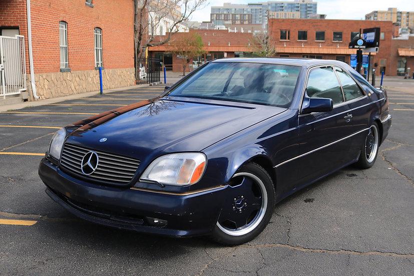 1995 Mercedes Benz S600