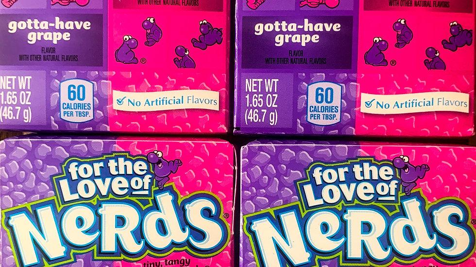 Grape & Strawberry Nerds