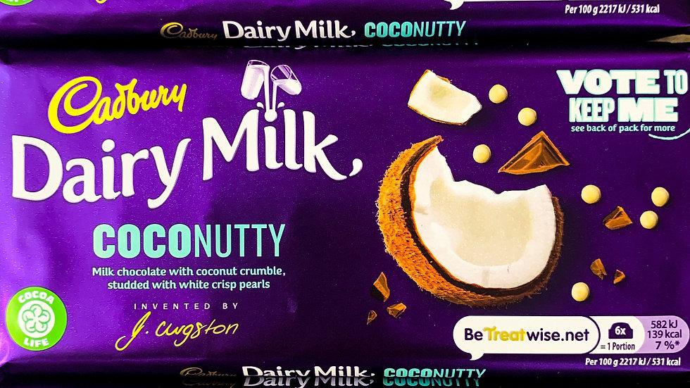 DAIRY MILK COCONUTTY