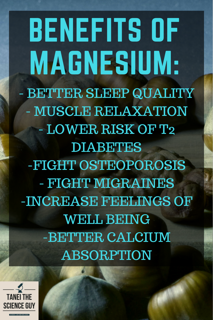 Here are some benefits of magnesium supplementation that you can benefit from today!