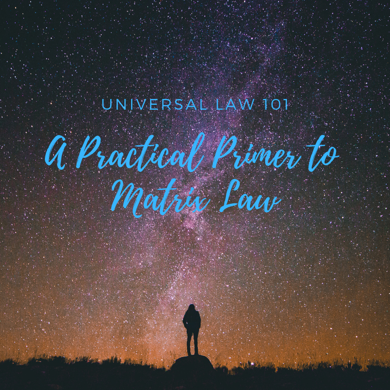 Universal Law 101 - Class Consults