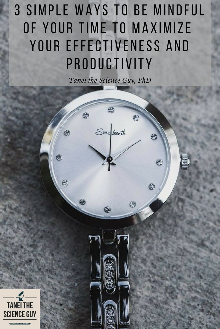 Read this blog post to find 3 simple ways to be more efficient and productive with your time!