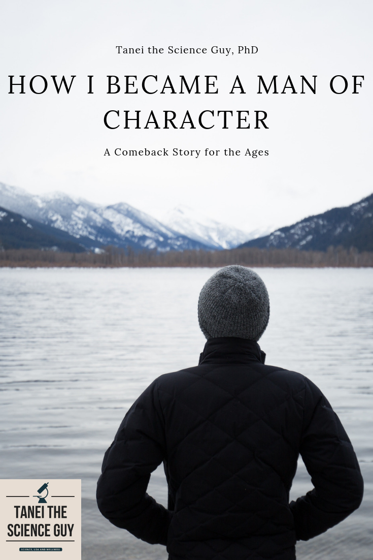 Becoming a Man of Character. Personal Development, Self-improvement, Stories of Sacrifice and Triumph