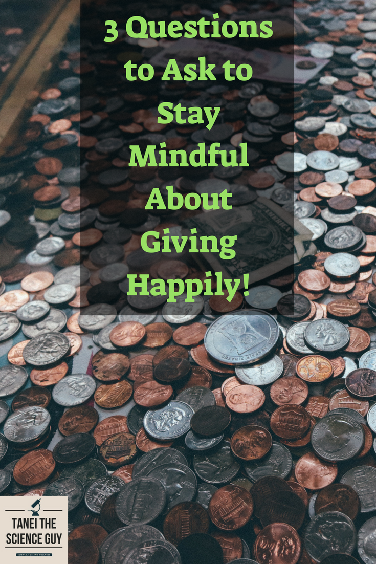 A wishing well where money has accumulated reminds us that abundance comes when we give happily!