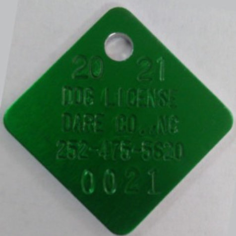 2021 Dog License - Not Spayed/Neutered
