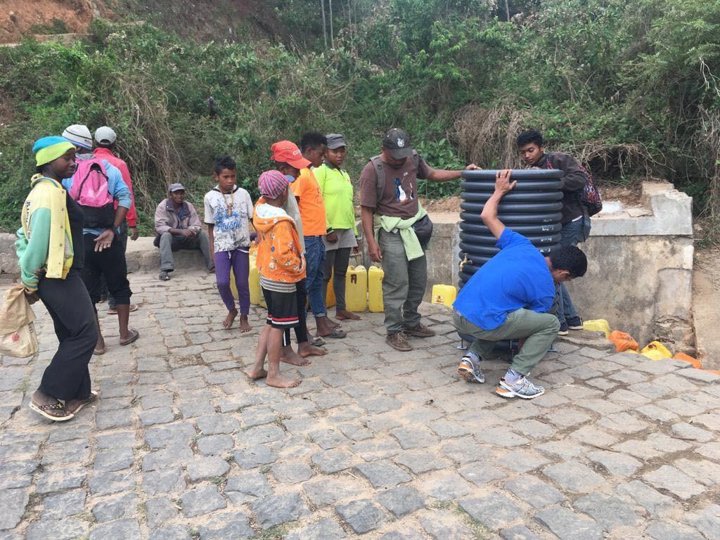 180 fontaines ont été installées dans 14 pays.