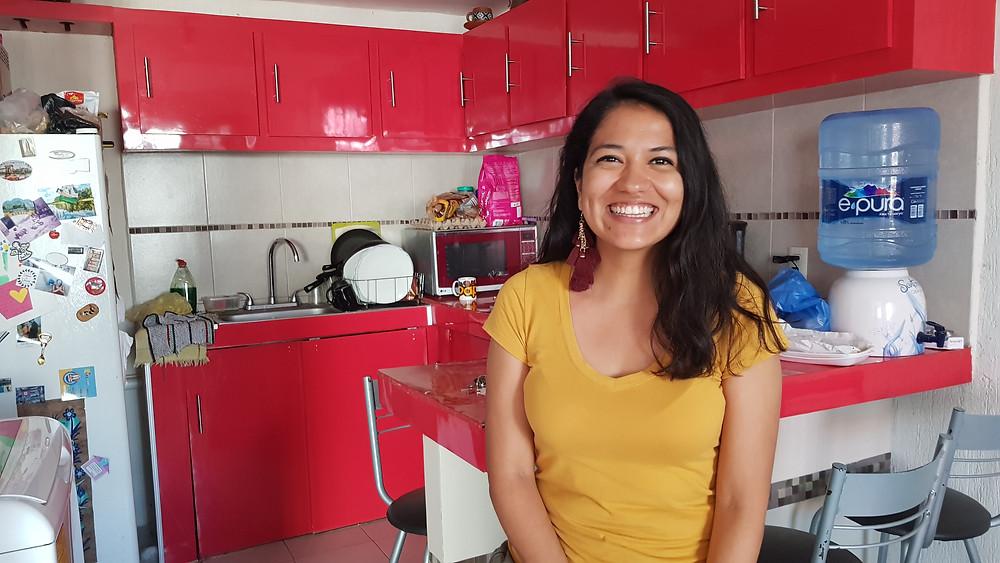 """""""Lorsque j'étais à l'école, je pouvais avoir trois empanadas, un Coca-Cola et un fruit pour 10 pesos (soit 50 centimes)"""", raconte Lilian Ramos, une mexicaine."""