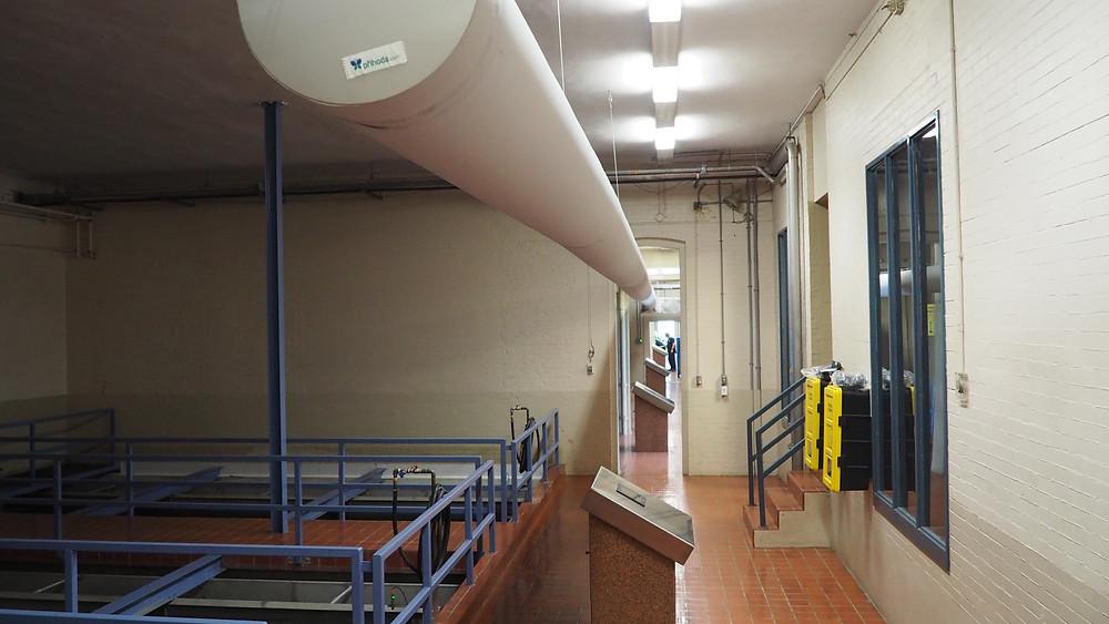 L'usine d'eau potable.