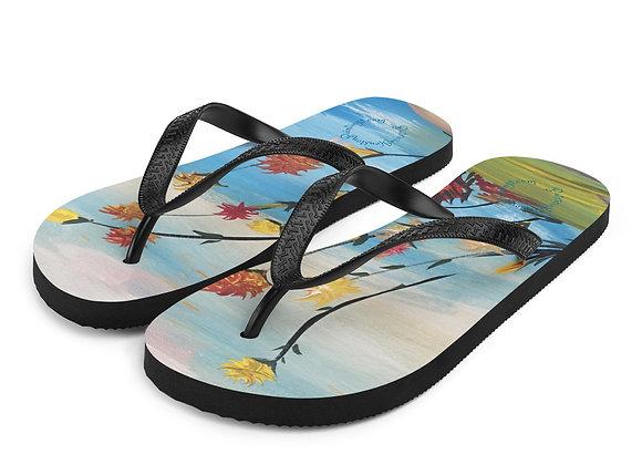 Flip-Flops~ Original Design By PatriciaHoustonPaintings.com