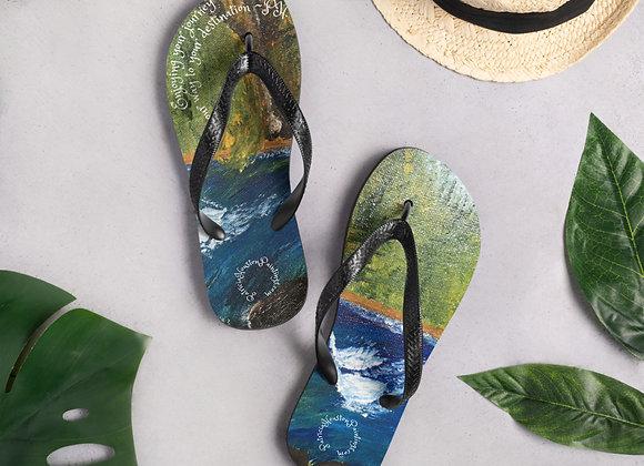Flip-Flops~ Design by PatriciaHoustonPaintings.com