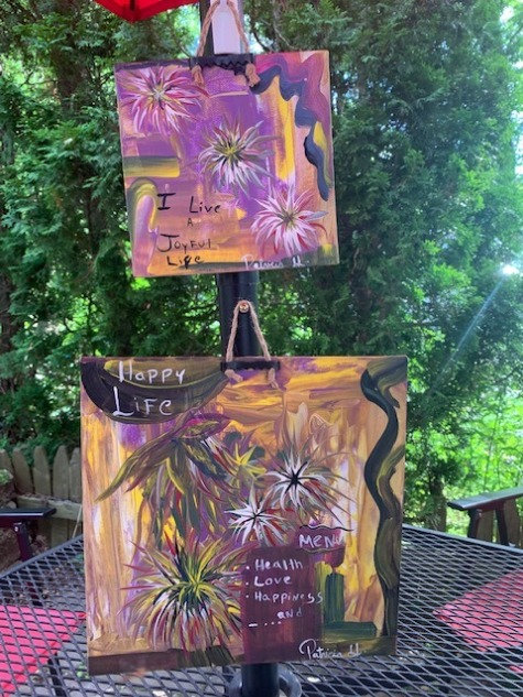Home Decor- Set Of Two  Original Paintings